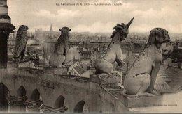51 CATHEDRALE DE REIMS  CHIMERES DE L'ABSIDE - Reims