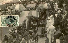 DAHOMEY - Carte Postale - Visite Du Ministre Des Colonies - L 53296 - Dahomey