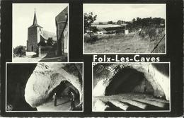 Folx - Les - Caves -- Grandes Champignonnières Et Grottes.     (2 Scans) - Orp-Jauche