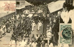 DAHOMEY - Carte Postale - Visite Du Ministre Des Colonies - Dans Les Rues De Porto Novo - L 53297 - Dahomey