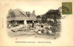 DAHOMEY - Carte Postale - Porto Novo - Le Marché De Poteries - L 53300 - Dahomey