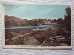 CP- Ménigoute (79) L'étang De Bois-Pouvreau 1935 - Autres Communes