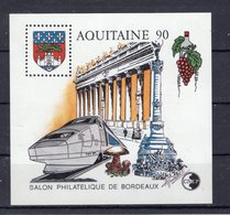 BLOC CNEP - AQUITAINE  1990 - Y&T  N° 12 - Neuf - Expositions Philatéliques