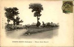 DAHOMEY - Carte Postale - Porto Novo - Place Jean Bayol - L 53301 - Dahomey