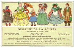 Illustrateur : Madeleine Cassiers. Semaine De La Poupée, Bruxelles. Magasins Tietz. - Illustrators & Photographers