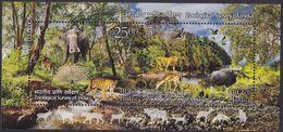 India 2899/00 - Zoological Survey 2015 M/S - MNH - Francobolli