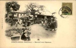 DAHOMEY - Carte Postale - Porto Novo - Marché Aux Légumes - L 53304 - Dahomey