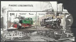BH 2012-586-7 LOCOMOTIVE, BOSNA AND HERZEGOVINA, S/S, MNH - Bosnie-Herzegovine