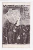 CP MILITARIA 59 VALENCIENNES Groupement Choral De La Région Anzin St Vaast St Amand Fresnes - Guerre 1914-18