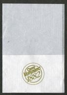 Serviette Papier Paper Napkin Tovagliolino Caffè Bar CAFFE VERGNANO 1882 - Servilletas Publicitarias