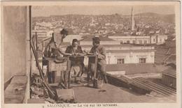Gréce :  SALONIQUE , Salonica : La  Vie  Sur Les  Terrasses - Greece