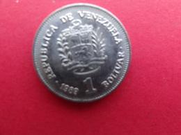 Venezuela  1 Bolivar  1989 Y52-a1 - Venezuela