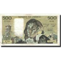 France, 500 Francs, Pascal, 1979, 1979-06-07, TTB, Fayette:71.19, KM:156d - 1962-1997 ''Francs''