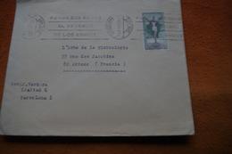 3-1487 Ponga Sus Senas Al Reverso De Los Envios Adresse Au Dos Des Correspondance Flamme Barcelone Christ En Croix 1972 - Zipcode