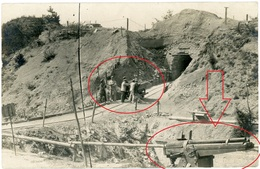 55 - Saint Mihiel Fort Camp Des Romains - Technik Artillerie Geschütz - Carte Photo Allemande 1914-1918 WWI - Non Classés