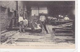 Côte-d'Or - Châtillon-sur-Seine - Usine Thirion, Fabrique De Talons En Bois Pour Chaussures - La Scierie - Chatillon Sur Seine