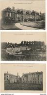D53  Hospice St Georges De Lisle à St Frambault De Prières ............Lot De 6 CPA ( Une Avec Cachet Hopital Temporaire - Lassay Les Chateaux
