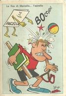"""6547 """"LA FINE DI MARCELLO...L'ASINELLO-ILLUSTRAZIONE DI JACOVITTI-1954""""-CART. POST. ORIG. NON SPED. - Non Classificati"""