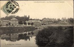 Cp Charleville Mézières Ardennes, Le Moulinet Et La Verrerie - Francia