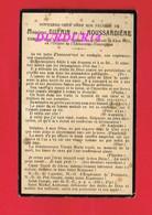 Avis De Décès  Titre De Noblesse M. GUERIN DE LA ROUSSARDIERE 1916 - Décès