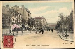 Cp Lyon Rhône, Cours Charlemagne - France