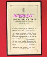 Avis De Décès  Titre De Noblesse M. Pierre Elie HAY Comte Des NETUMIERES - Décès