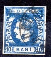 Rumanía Sello N ºYvert 22 O Valor Catálogo 25.0€ - 1858-1880 Moldavia & Principado