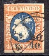 Rumanía Sello N ºYvert 24 O Valor Catálogo 20.0€ - 1858-1880 Moldavia & Principado