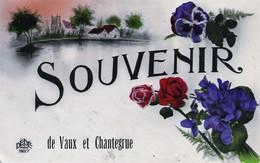 Souvenir De Vaux Et Chantegrue (Doubs) - Edition DéDé Paris. Circulée En 1928 Pour Dompierre. Bon état.2 Scan. - France