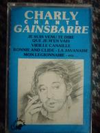Charly Chante Gainsbarre/ Cassette Audio-K7 Quelaire QU 0010 - Audio Tapes