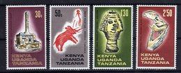 KUT Kenya Uganda Tanzania 1967 Archéologie Archeology Yv 161/164 MNH ** - Kenya, Uganda & Tanzania