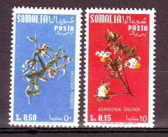 SOMALIA  AFIS SOMALILAND 1958  FIORI SOMALI Compl.2 VAL MNH** - Flora