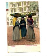 Carte Costume Lisbonne Cachet Sur Roi - Portugal