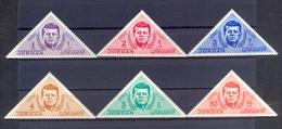 Jordan 1964 - J.F. Kennedy- Stamps 6v - Complete Set - MNH**- Excellent Quality - Jordanien