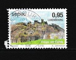Timbre Du LUXEMBOURG Oblitéré N° Y. & T. Inconnu Année 2016 Cachet Rond - Luxembourg