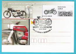 Poland 2019, Postcard KIELCE  Motorbike, Motorcycle,  Moto,  Motocyclette, LIMITED EDITION 500 Pcs - Motorbikes