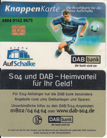 GERMANY - AufSchalke Arena, Ticket Card, Chip CHT08, Used - Sport