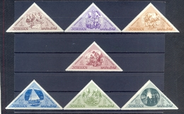 Jordan 1963 - Jordanian Scouts Activity - Stamps 7v Complete Set - MNH**- Excellent Quality - Jordanien
