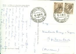 """""""RECAPITO P.T. CANTAGALLO AUTOSTRADA DEL SOLE  (BO)"""",1966 - TIMBRO POSTE RECAPITO P.T. CANTAGALLO AUTOSTRADA DEL SOLE-RR - 1961-70: Marcophilia"""