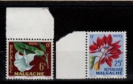Madagascar - YV 336 & 337 N** Fleurs - Madagaskar (1960-...)