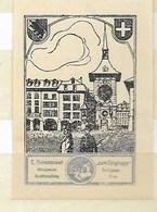 Bern - E. Ankenbrand Antiquariat Buchhandlung; Zicht Op Bern - Erinnophilie
