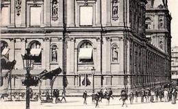 CPA 75 PARIS 4e Station De Métro HOTEL DE VILLE Pagode Guimard Perspective De La Rue De Rivoli 1906 Ed ND Phot N° 375 - Arrondissement: 04
