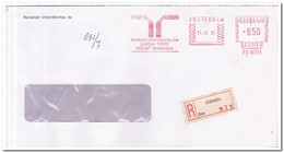 Diemen 1982, Aangetekende Brief, Randstad Uitzendbureau Bv - Period 1980-... (Beatrix)