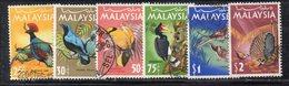Q191 - MALAYSIA 1965 , SEI Valori Usati (2380A) - Malesia (1964-...)