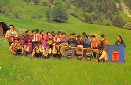 FLUMET - Groupe Folklorique Le Biau-Zizé - Cloches - Photo Tops-Socquet, Mégève - Sonstige Gemeinden