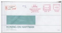 S'Gravenhage ( De Stede ) 1982, Aangetekende Brief, Koning En Hartman Elektrotechniek Bv - Period 1980-... (Beatrix)