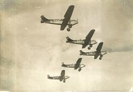 """6562 """" 5 AEREI IN VOLO(FORSE FOKKER) """" FOTO ORIGINALE - Aviazione"""