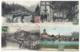 SUISSE - Canton De BERNE - Lot De 12 CPA - 1905 à 1909 - Même Destinataire - BE Berne