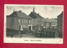 C.P.  Leuze-en-Hainaut  =  Rue  De La  STATION - Leuze-en-Hainaut