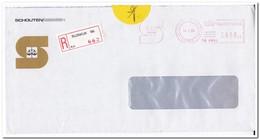 Rijswijk 1986, Aangetekende Brief, Schouten/Giessen - Period 1980-... (Beatrix)